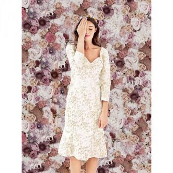 Burda Style | Bustier Top Wedding Dress (Petite-Size) 03/2014 #116B