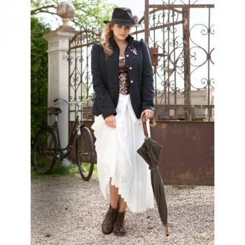Burda Style | Elasticated Maxi-Skirt (Plus Size) 09/2012 #142
