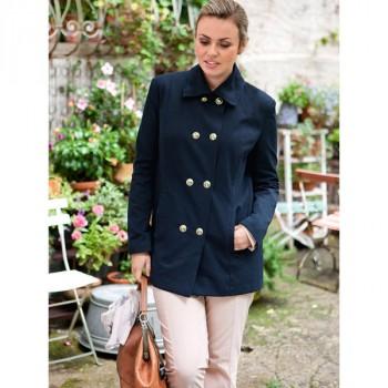 Burda Style | Sailor Jacket (Plus Size) 02/2014 #136