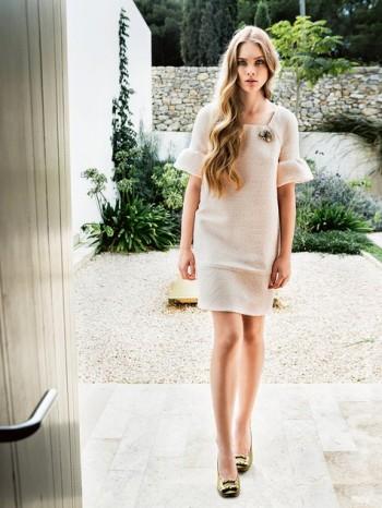 Burda Style | Peplum Sleeve Dress 02/2014 #112