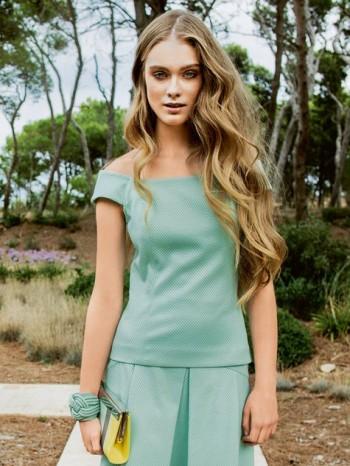 Burda Style | Princess Seam Boatneck Top 02/2014 #104