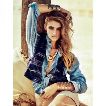 Burda Style | Waistcoat with Piping 04/2014 #125