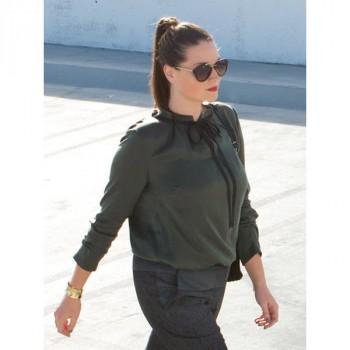 Burda Style | Keyhole Blouse (Plus Size) 04/2014 #132