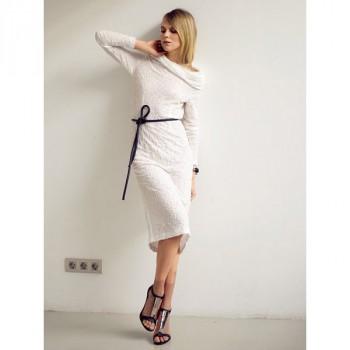 Burda Style   Funnel Neck Dress 04/2014 #112