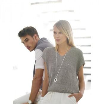 Burda Style | Knit V Neck Pullover 04/2014 #109