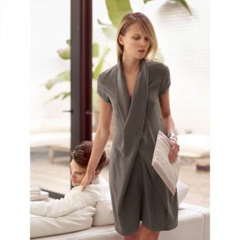 Burda Style | X Wrap Dress 04/2014 #106