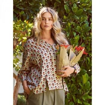 Burda Style | Slit Blouse (Plus Size) 06/2014 #135
