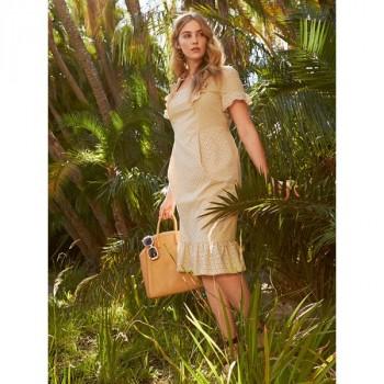 Burda Style | Ruffle Dress (Plus Size) 06/2014 #134