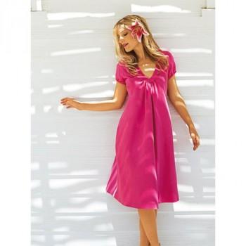 Burda Style | V Neck Summer Dress 06/2011 #102B