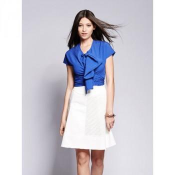 Burda Style | Retro Wrap Blouse 05/2014 #134