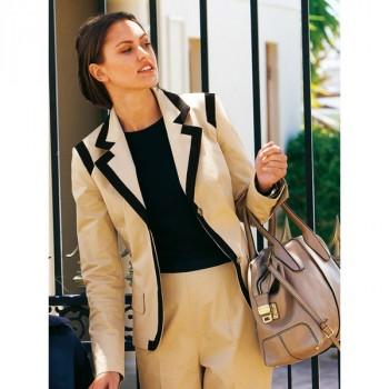 Burda Style | Contrast Blazer 04/2011 #129