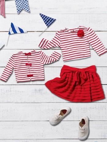 Burda Style | Girl's Breton Shirt 05/2014#142