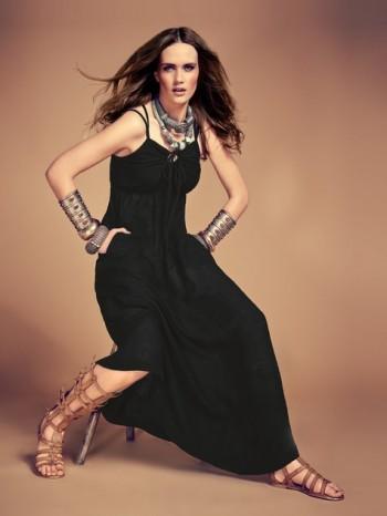 Burda Style | Keyhole Maxi Dress 05/2014#117B