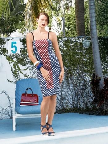 Burda Style | Paneled Spaghetti Strap Dress 05/2014#113