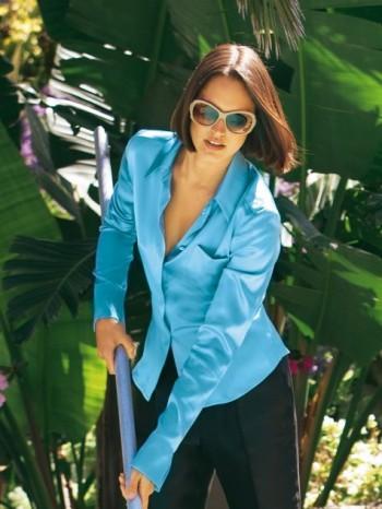 Burda Style | Silk Blouse 04/2011#105