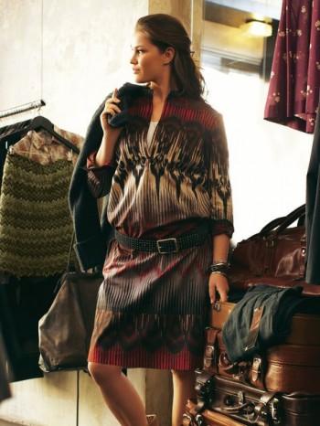 Burda Style | Split Neck Tunic Dress (Plus Size) 03/2012#133