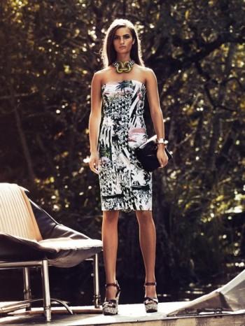 Burda Style | Strapless Bustier Dress with 2 Way Zipper 05/2014#112