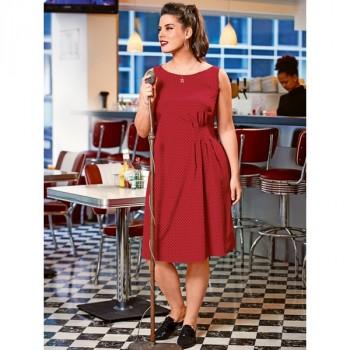 Burda Style | Dress with Asymmetrical Gathers (Plus Size) 07/2014 #129