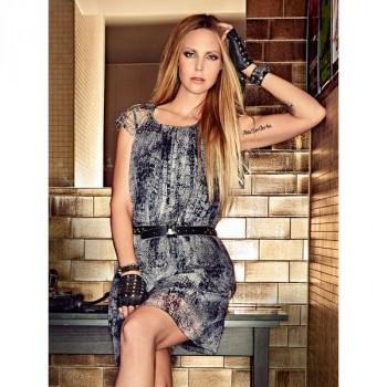 Burda Style | Chiffon Mini Dress 08/2014#119