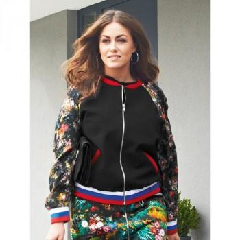 Burda Style | Track Jacket (Plus Size) 08/2014#135