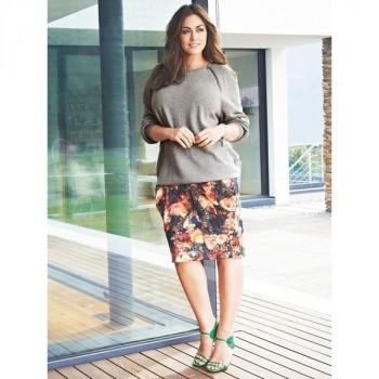 Burda Style | Draped Skirt (Plus Size) 08/2014#140