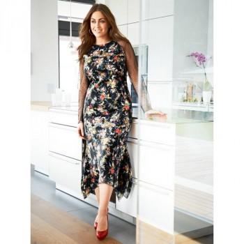 Burda Style | Mermaid Dress (Plus Size) 08/2014#141