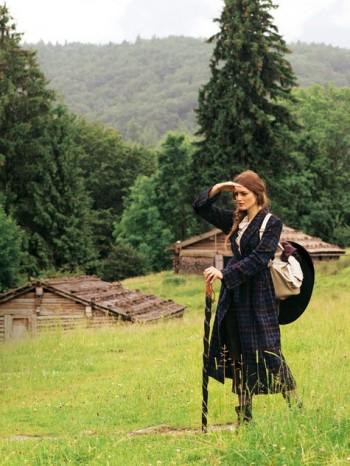 Burda Style   Long Plaid Coat 10/2010#109