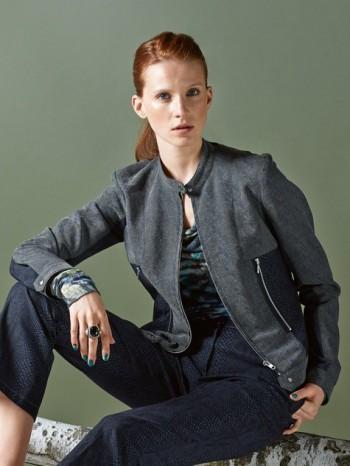Burda Style | Short Biker Jacket (Petite-Size) 10/2014#107