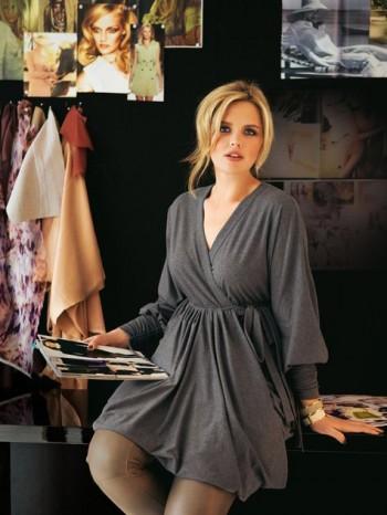 Burda Style | Wrap Tunic Dress (Plus Size) 08/2011#139