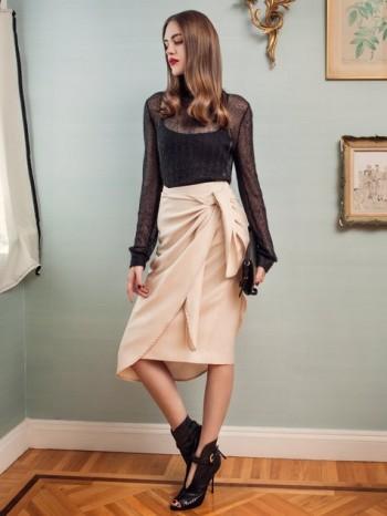 Burda Style | Wraparound Skirt 10/2014#123