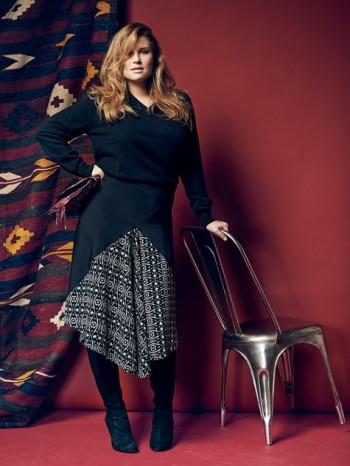 Burda Style | Godet Skirt (Plus Size) 09/2014#142
