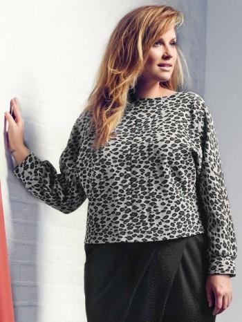 Burda Style | Jersey Dolman Top (Plus Size) 09/2014#139