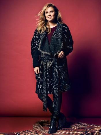 Burda Style | Paneled Wrap Cardigan (Plus Size) 09/2014#137