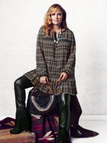Burda Style | Drop Waist Tunic Dress (Plus Size) 09/2014 #135