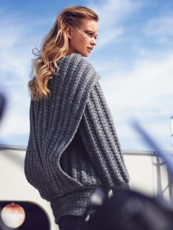 Burda Style | Chunky Sweater 09/2014 #121