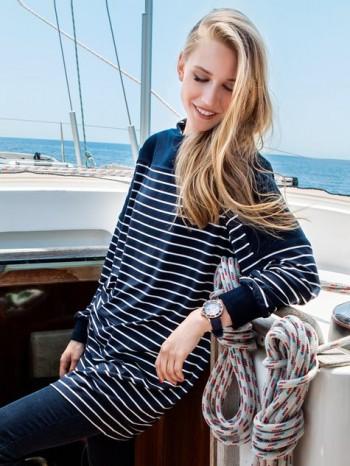 Burda Style | Nautical Jersey Tunic 10/2014#130