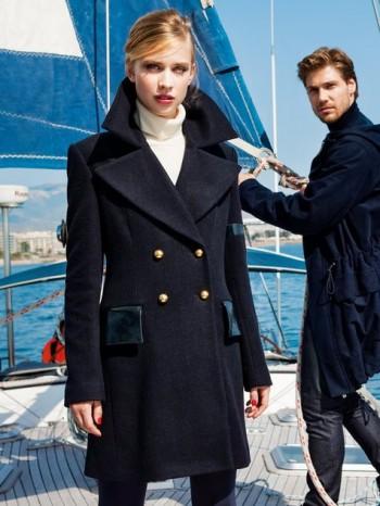 Burda Style | Navy Peacoat 10/2014#125