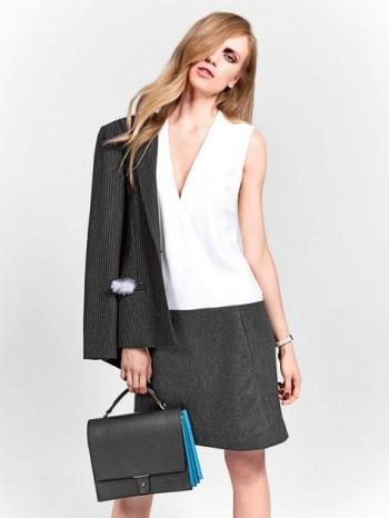 Burda Style | Drop Waist Dress (Petite-Size) 08/2014#131