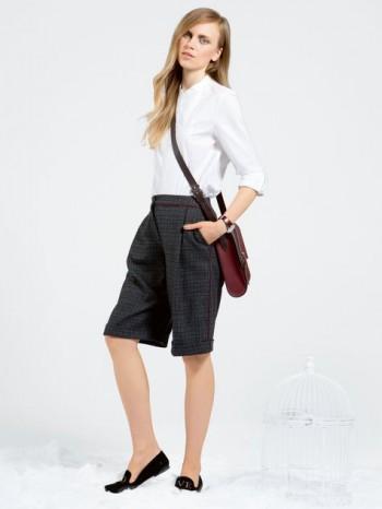 Burda Style | Cuffed Bermuda Shorts 08/2014#111