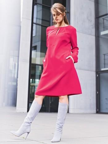 Burda Style | Split Neck Dress (Plus Size) 10/2014#139