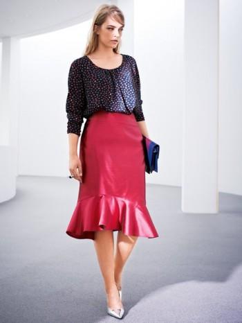 Burda Style | Mermaid Skirt (Plus Size) 10/2014#138