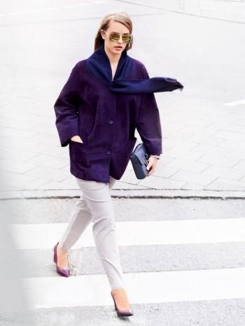 Burda Style | Scarf Jacket (Plus Size) 10/2014#134