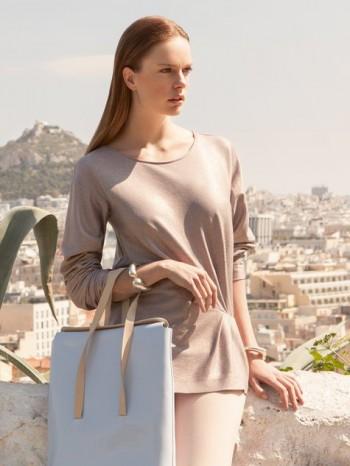 Burda Style | Gathered Long Sleeve Shirt 08/2014#132