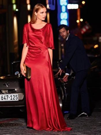Burda Style | Godet Gown 07/2014#122B