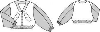 Burda Style | Satin Bomber Jacket 07/2014#102