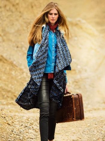 Burda Style | Swing Vest 10/2014 #112