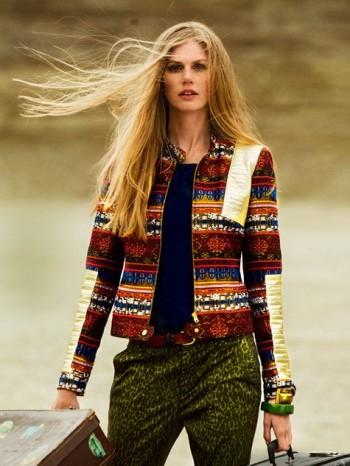 Burda Style | Folk Biker Jacket (Petite-Size) 10/2014 #108