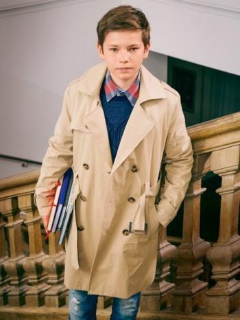 Burda Style | Boy's Trenchcoat 10/2014#142