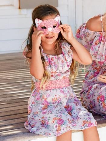 Burda Style | Girl's Ruffle Dress 07/2014#137