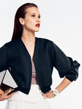 Burda Style | V Neck Blouson Jacket 07/2014#101